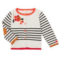 Kleidung Mädchen Strickjacken Catimini CR18003-19 Multicolor