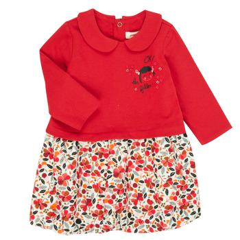 Kleidung Mädchen Kurze Kleider Catimini CR30043-38 Multicolor