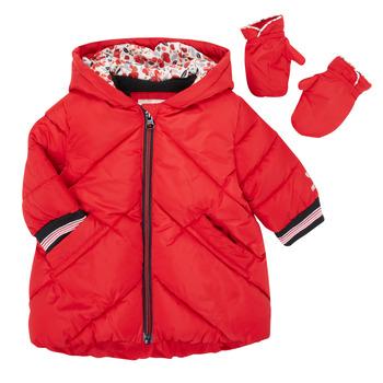 Kleidung Mädchen Daunenjacken Catimini CR42013-38 Rot