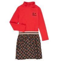 Kleidung Mädchen Kurze Kleider Catimini CR30035-38-C Multicolor