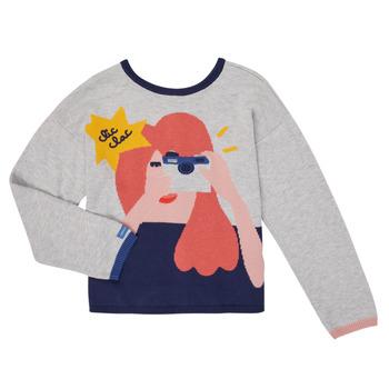 Kleidung Mädchen Strickjacken Catimini CR18055-21-C Multicolor