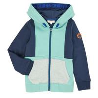 Kleidung Jungen Strickjacken Catimini CR17044-51-C Blau