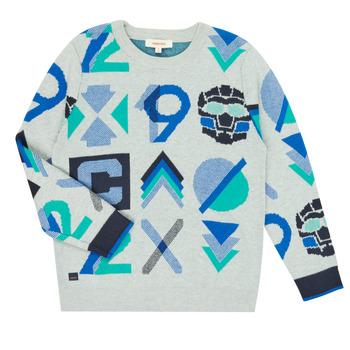 Kleidung Jungen Pullover Catimini CR18034-23-C Multicolor