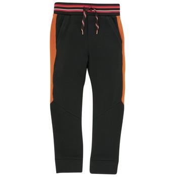 Kleidung Jungen Jogginghosen Catimini CR23004-02-C Schwarz