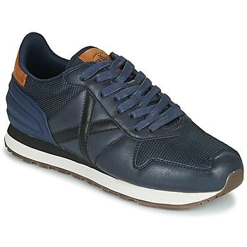 Schuhe Herren Sneaker Low Munich MASSANA Blau