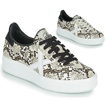 Schuhe Damen Sneaker Low Munich BARRU SKY Beige