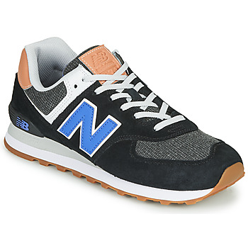 Schuhe Herren Sneaker Low New Balance 574 Schwarz / Blau