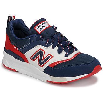 Schuhe Jungen Sneaker Low New Balance 997 Blau / Weiss / Rot
