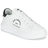 Schuhe Herren Sneaker Low Karl Lagerfeld KAPRI MAISON KARL LACE Weiss