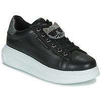 Schuhe Damen Sneaker Low Karl Lagerfeld KAPRI IKONIC TWIN LO LACE Schwarz