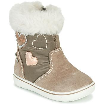 Schuhe Mädchen Boots Primigi SNORKY GTX Braun