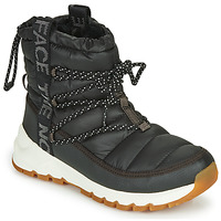 Schuhe Damen Schneestiefel The North Face W THERMOBALL LACE UP Schwarz / Weiss