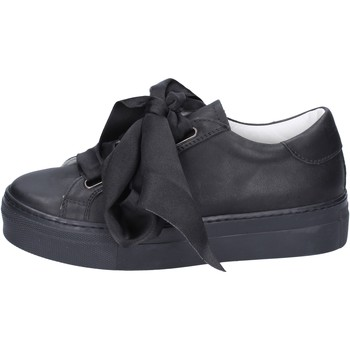 Schuhe Damen Sneaker Lemaré sneakers leder schwarz