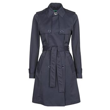Kleidung Damen Trenchcoats Benetton 2BIM5K2S3 Marine