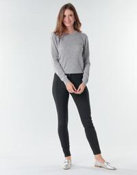 Kleidung Damen Fließende Hosen/ Haremshosen Benetton 4SK755944 Schwarz