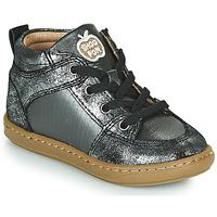 Schuhe Mädchen Sneaker High Shoo Pom BOUBA GANG Silbern