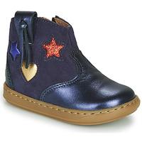 Schuhe Mädchen Sneaker High Shoo Pom BOUBA WEST Blau