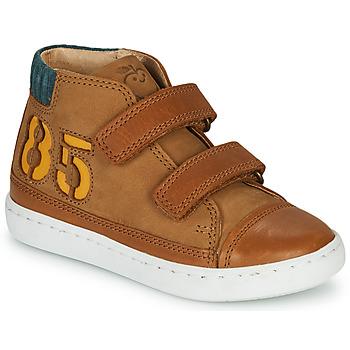 Schuhe Jungen Sneaker High Shoo Pom PLAY ALPHA Braun