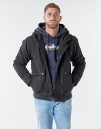 Kleidung Herren Jacken Quiksilver BROOKS M JCKT KVJ0 Schwarz