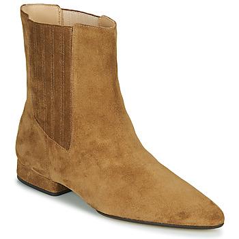 Schuhe Damen Boots Kenzo K LINE SOFT Camel