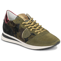 Schuhe Damen Sneaker Low Philippe Model TROPEZ Camouflage