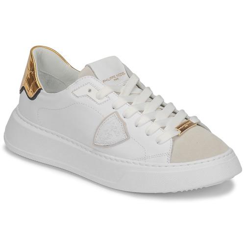 Schuhe Damen Sneaker Low Philippe Model TEMPLE Weiss