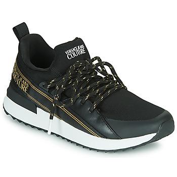 Schuhe Damen Sneaker Low Versace Jeans Couture VZASG1 Schwarz