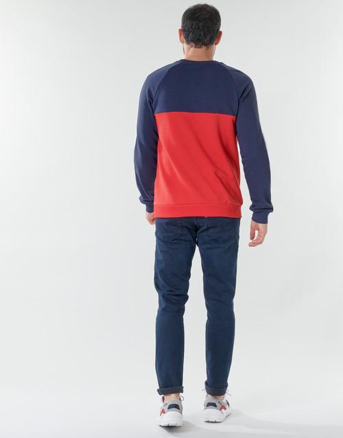Fila CREW SWEATER Blau / Weiss / Rot - Kostenloser Versand |  - Kleidung Sweatshirts Herren 6499 vW5Sx