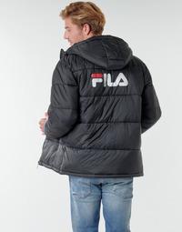 Kleidung Herren Daunenjacken Fila SCOOTER PUFFER JACKET Schwarz