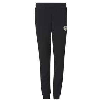 Kleidung Mädchen Jogginghosen Puma ALPHA SWEAT PANT Schwarz