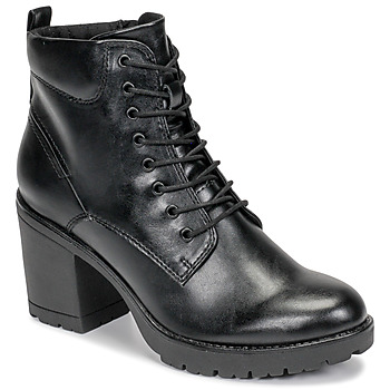 Schuhe Damen Low Boots Marco Tozzi 2-25204-35-002 Schwarz