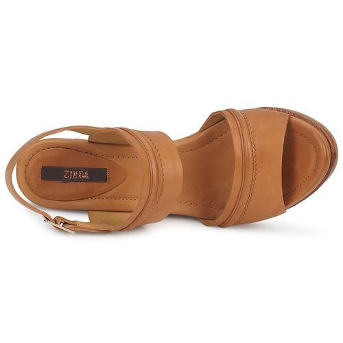 Zinda HAPPY Braun Sandaletten  Schuhe Sandalen / Sandaletten Braun Damen 120,96 454c6a