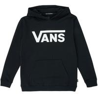 Kleidung Kinder Sweatshirts Vans VANS CLASSIC PO Schwarz
