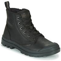 Schuhe Boots Palladium PAMPA ZIP LTH ESS Schwarz