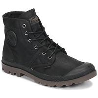 Schuhe Boots Palladium PALLABROUSE WAX Schwarz