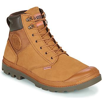 Schuhe Herren Boots Palladium PAMPA SHIELD WP+ LUX Braun