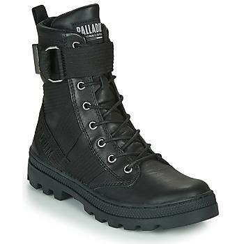 Schuhe Damen Boots Palladium PALLABOSSE TACT STL Schwarz