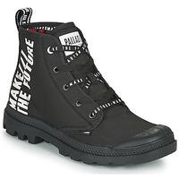 Schuhe Boots Palladium PAMPA HI FUTURE Schwarz