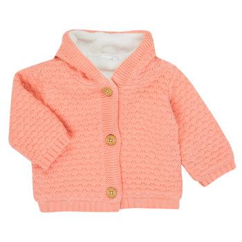 Kleidung Mädchen Strickjacken Noukie's Z050003 Rose