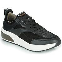 Schuhe Damen Sneaker Low Replay FLOW CREATION Schwarz