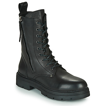 Schuhe Damen Boots Replay PAMELA STANDING Schwarz