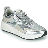 Schuhe Damen Sneaker Low Replay FLOW CREATION Silbern