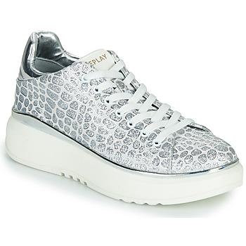 Schuhe Damen Sneaker Low Replay ULTRA NACHT Weiss / Grau