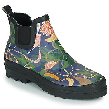 Schuhe Damen Gummistiefel Sanita FELICIA WELLY Blau