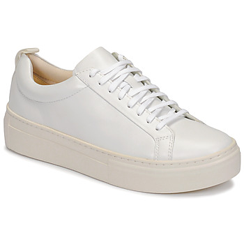 Schuhe Damen Sneaker Low Vagabond Shoemakers ZOE PLATFORM Weiss