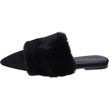 Schuhe Damen Sandalen / Sandaletten Stephen Good sandalen wildleder schwarz
