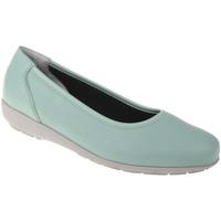 Schuhe Damen Ballerinas Natural Feet Ballerina Johanna Farbe: grün grün
