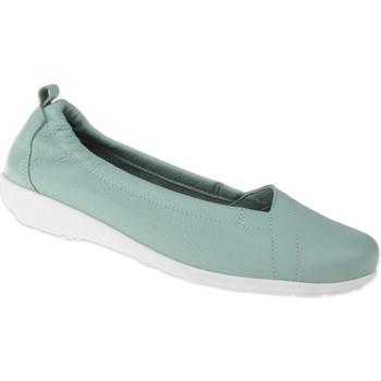 Schuhe Damen Ballerinas Natural Feet Ballerina Polina Farbe: grün grün