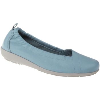 Schuhe Damen Ballerinas Natural Feet Ballerina Polina Farbe: blau blau
