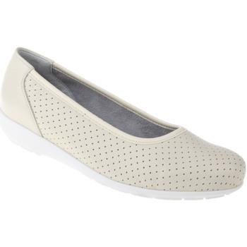 Schuhe Damen Ballerinas Natural Feet Ballerina Annabelle Farbe: beige beige